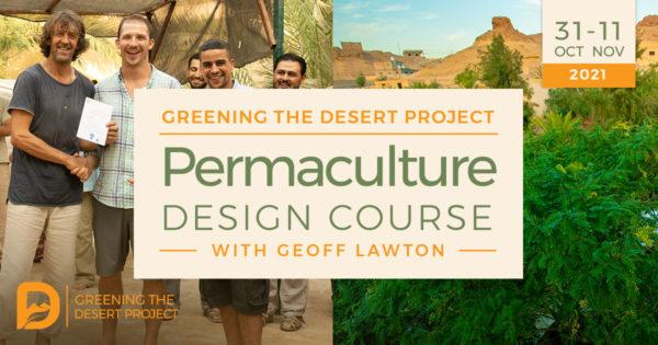 permaculture design certificate course in Jordan